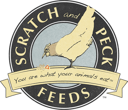 Scratch and Peck Feeds Retina Logo