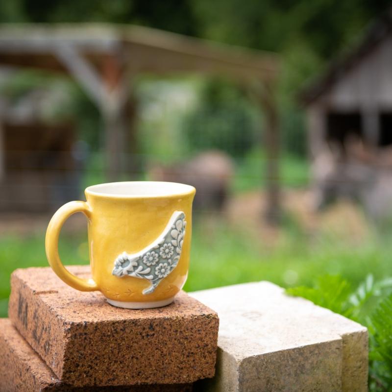 Handmade Chicken Mug