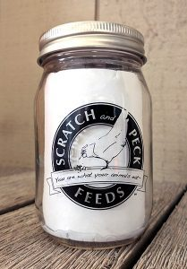 Scratch and Peck Mason Jar