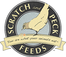 Scratch and Peck Feeds Sticky Logo