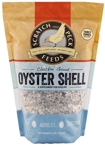 Cluckin Good Oyster Shell Scratch And Peck Feeds Certified