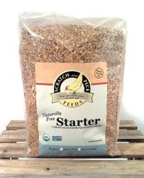 Scratch and Peck Feeds Naturally Free Organic Starter chicken feed