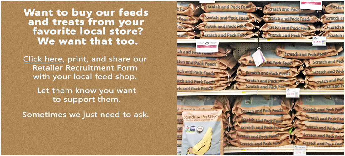 Scratch and Peck Feeds Retailer Recruitment Form