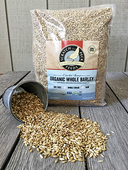 Scratch and Peck Feeds Cluckin' Good Organic Whole Barley