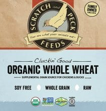 Scratch and Peck Feeds Cluckin' Good Organic Whole Wheat