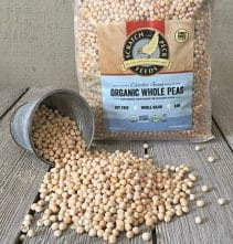 Scratch and Peck Feeds Cluckin' Good Organic Whole Peas