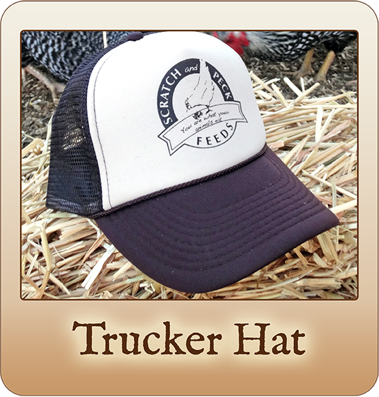Scratch and Peck Feeds Trucker Hat